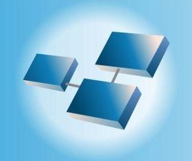 3D Logo vector