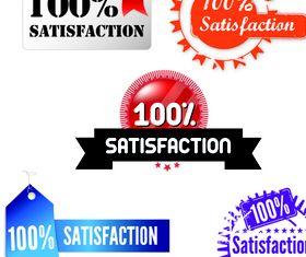 satisfaction stamps vector graphics