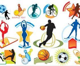 Sports Symbols free vector graphics