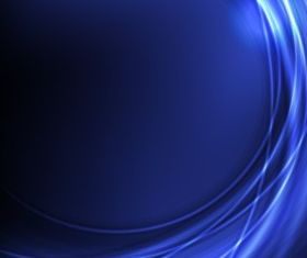 Blue arc curve background vector design