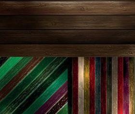 Color stripe background vectors material