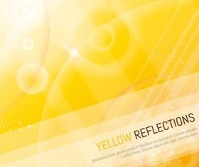 Brilliant yellow halo background vector design