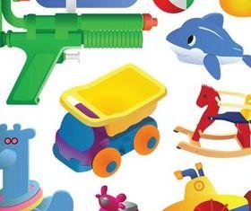 Toys free vector design