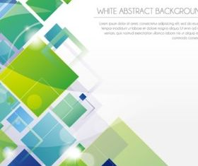 Abstract Fashion Square background vector