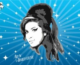 Amy Winehouse Graphics vector graphic