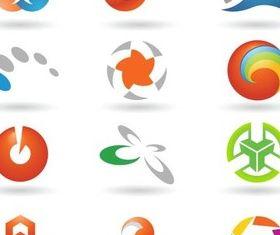 Colorful Vivid Logo vector