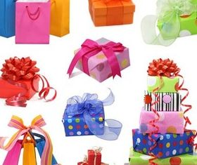 Birthday Vivid Gifts vector