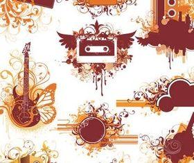 Design Music Elements design vectors