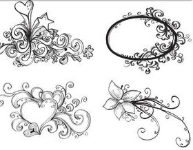 Design Drawing Elements vector