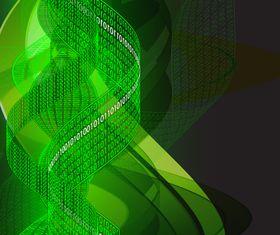 Dynamic number background Illustration vector