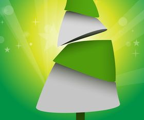 Christmas Tree Abstract Background 1 vector
