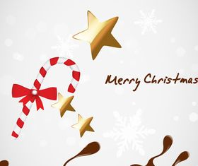 Christmas Chocolate Background vectors