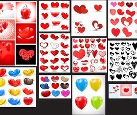 Hearts 1 vector