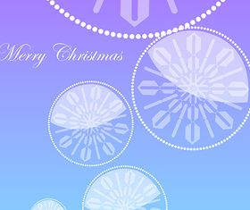 Christmas Elements Background vector graphics