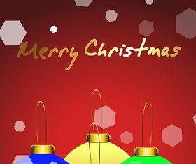 Christmas Background 3 vector set