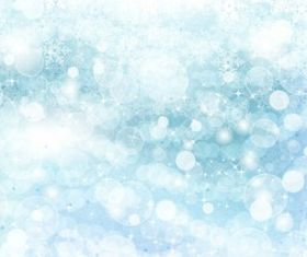 Dream flying snowflake background vectors graphic