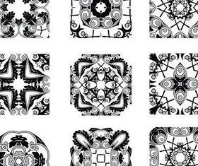 Different Ornaments vector