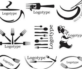Cafe Logotypes graphic vectors graphic