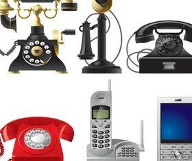 Telephones vector