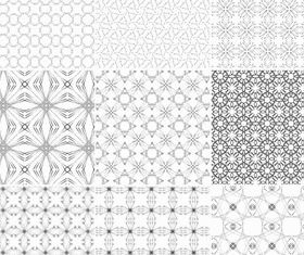 Light Floral Patterns vector