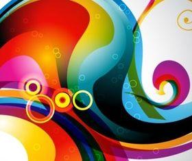Fashion color background vector design