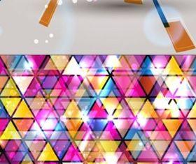 Colorful fashion background vectors graphics