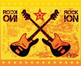 Rock Guitars vector