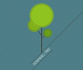 Fresh tree design design vector