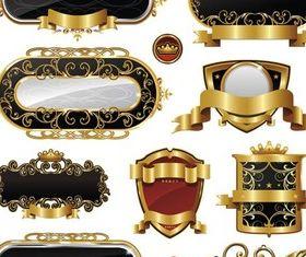 Royal Style Elements vector
