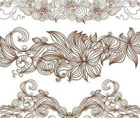 Vintage Floral Ornaments vectors