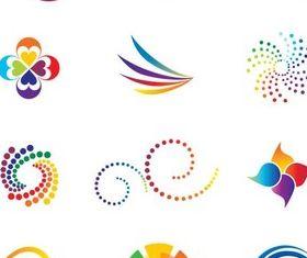 Color Vivid Logo free vector graphics