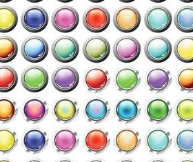 Glass Vivid Icons vector