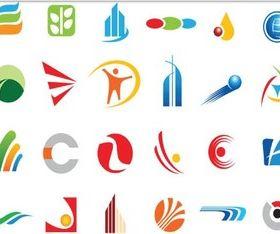 Abstract Vivid Logo vector