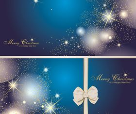Star christmas banner 2 vector
