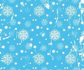 Christmas Snowflake background 1 vector