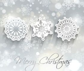 Christmas Snowflake background 2 vector