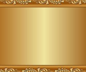 Gold Backgrounds graphics 2 vector material