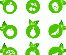 Eco Green Icons 2 vector graphics