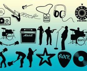 Free Rock Music vector