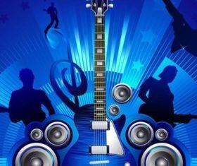 Free Rock Concert Illustration vector