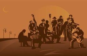 Tango Band design vector