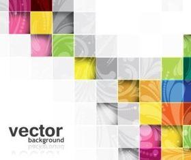 Colorful plaid background vectors graphics