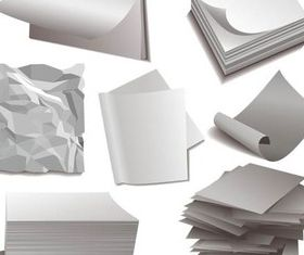 Paper Objects vectors