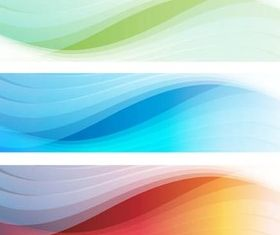 Wave Banners free vector graphics