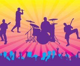 Live Concert vectors