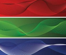 Waves Banners free vectors graphic