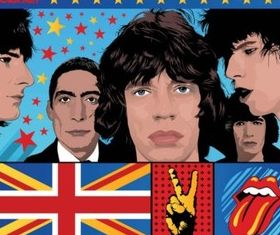 The Stones creative vector