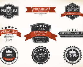 Sale labels 3 vector graphic