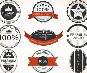 Sale labels 4 vector graphic