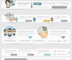 Web design 4 shiny vector